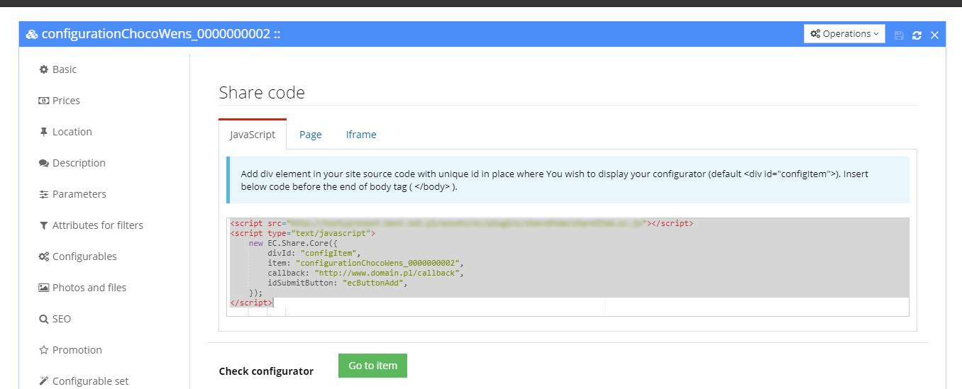 Osadzanie za pomocą JavaScript Fifny Clouds